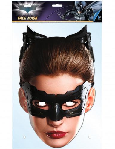 Kartonnen Catwoman™ Dark Knight masker-2