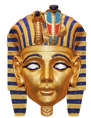 Kartonnen farao masker