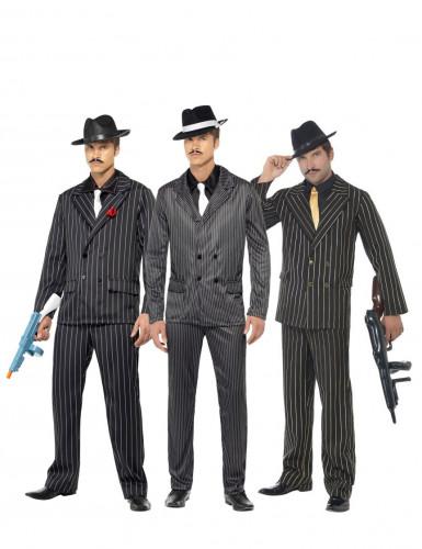 Gangster groepskostuum voor mannen