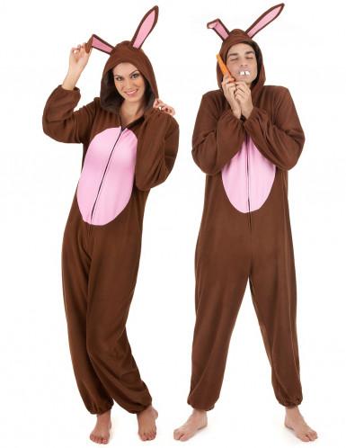 Konijnen duo kostuum voor volwassenen