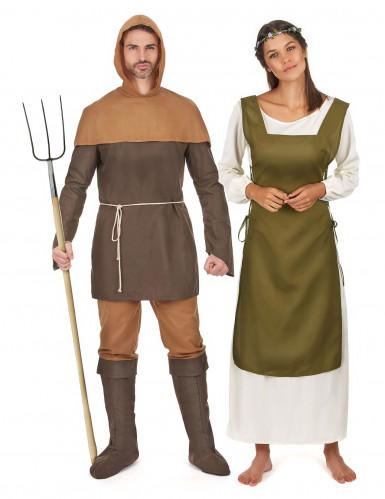 Middeleeuwse koppelkostuums voor volwassenen