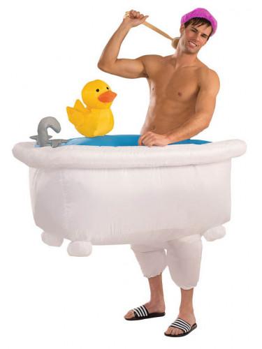 Opblaasbaar bad kostuum voor volwassenen