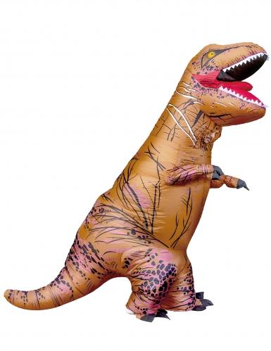 Opblaasbare T-rex kostuum voor volwassenen