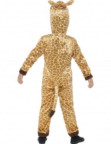 Beige en gele giraffe outfit voor kinderen-1