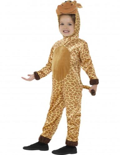 Beige en gele giraffe outfit voor kinderen-2