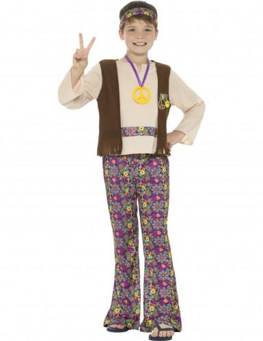 Hippie peace kostuum voor jongens