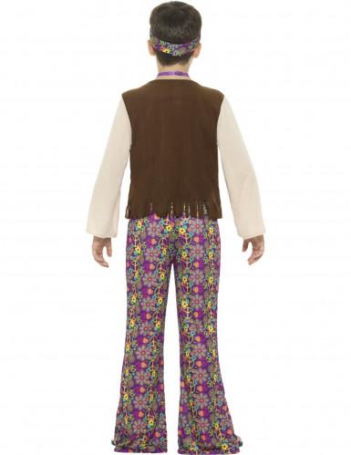 Hippie peace kostuum voor jongens-1