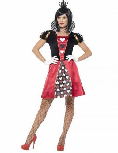 Miss Hartenkoningin kostuum voor vrouwen