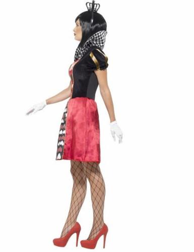 Miss Hartenkoningin kostuum voor vrouwen-1
