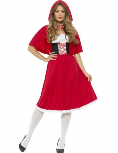 Rode miss Roodkapje kostuum voor vrouwen
