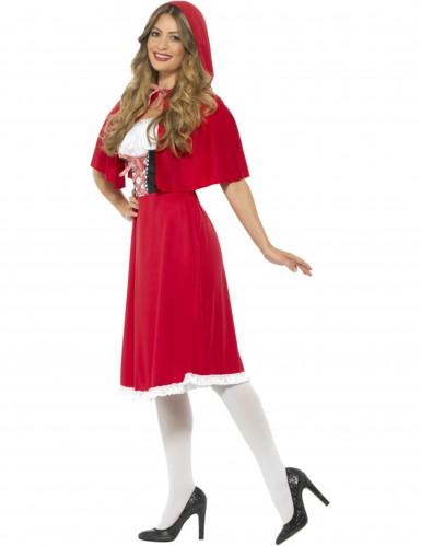 Rode miss Roodkapje kostuum voor vrouwen-1