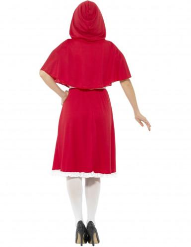 Rode miss Roodkapje kostuum voor vrouwen-2