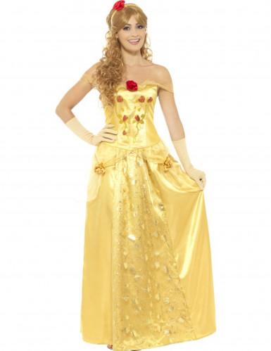 Geel droom prinses kostuum voor vrouwen