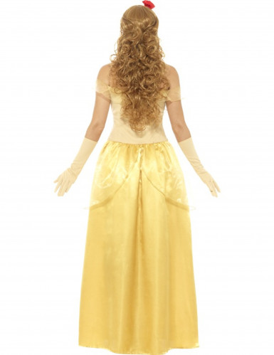 Geel droom prinses kostuum voor vrouwen-2