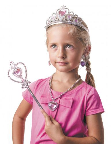 Set prinsessen accessoires voor meisjes