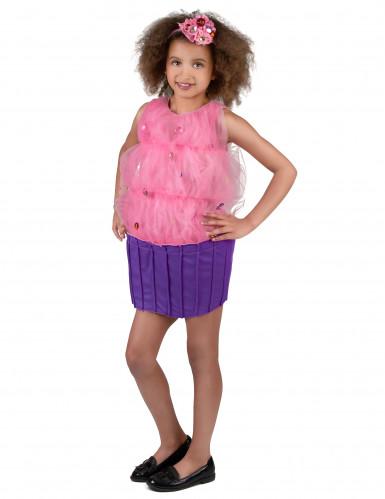 Roze cupcake kostuum voor meisjes-1