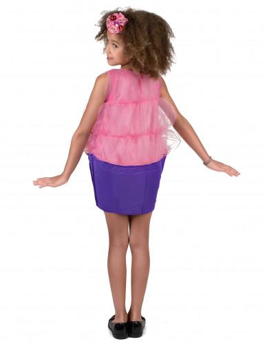 Roze cupcake kostuum voor meisjes-2