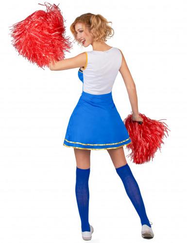 USA Cheerleader kostuum voor vrouwen -2