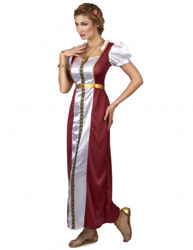Middeleeuws koningin kostuum voor vrouwen-1