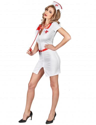 Sexy verpleegster outfit voor vrouwen-1