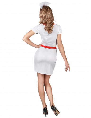 Sexy verpleegster outfit voor vrouwen-2