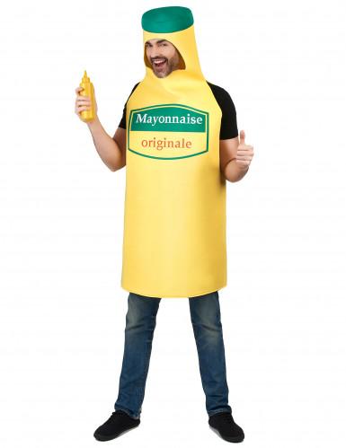 Mayonnaise fles kostuum voor volwassenen-1