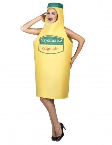 Mayonnaise fles kostuum voor volwassenen-2