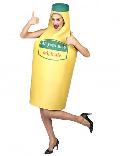 Mayonnaise fles kostuum voor volwassenen-4