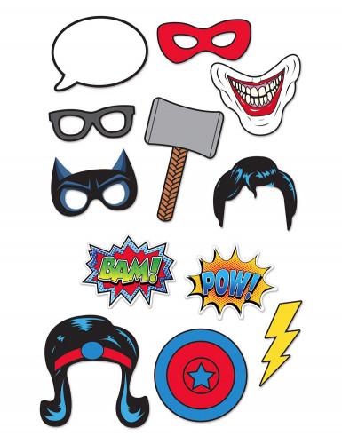 Superhelden photobooth set