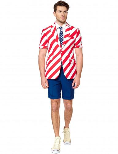 Mr. America Opposuits™ zomerkostuum voor mannen