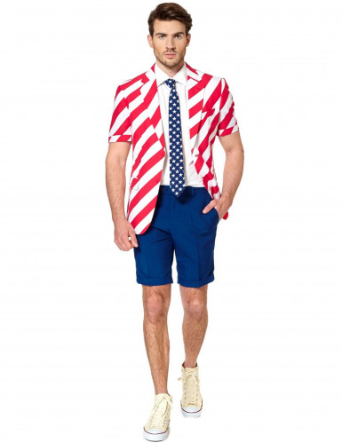 Mr. America Opposuits™ zomerkostuum voor mannen-1