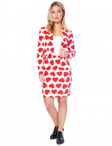 Mrs. Hartenkoningin Opposuits™ kostuum voor vrouwen