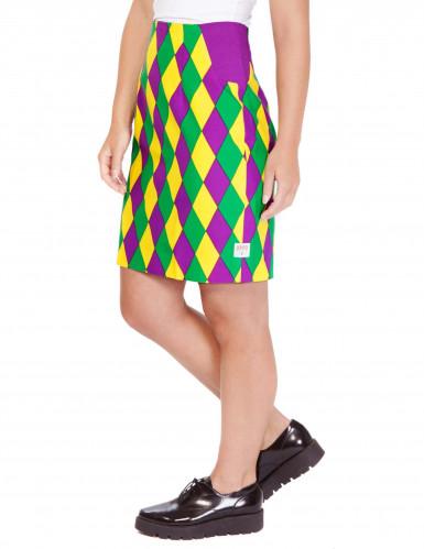 Mrs. Harlekijn Opposuits™ kostuum voor vrouwen-2