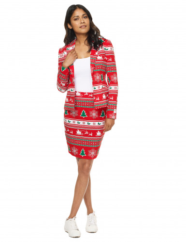 Mrs. Winterwonderland Opposuits™ kerst kostuum voor vrouwen