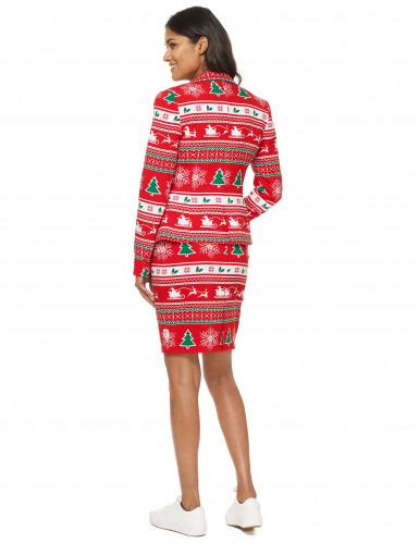 Mrs. Winterwonderland Opposuits™ kerst kostuum voor vrouwen-2