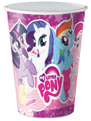 8 kartonnen bekers My Little Pony™