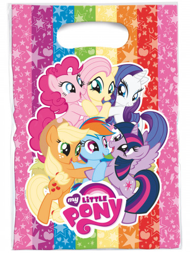 6 My Little Pony™ feestzakjes