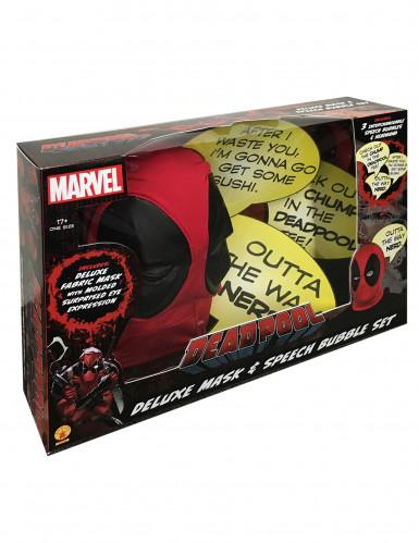 Luxe Deadpool™ kap met tekstballonnen-1