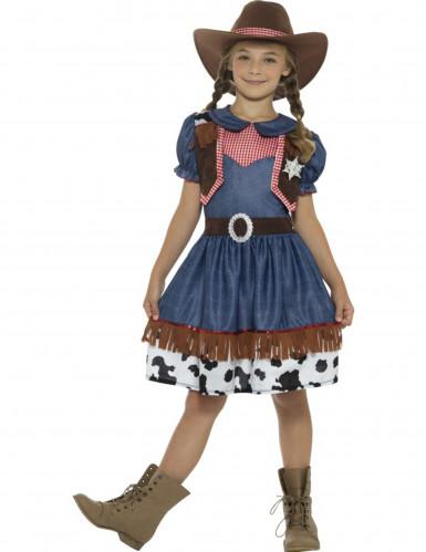 Texaanse cowgirl kostuum voor meisjes