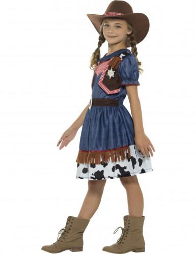 Texaanse cowgirl kostuum voor meisjes-2