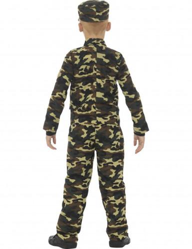 Militair camouflage uniform kostuum voor jongens-2