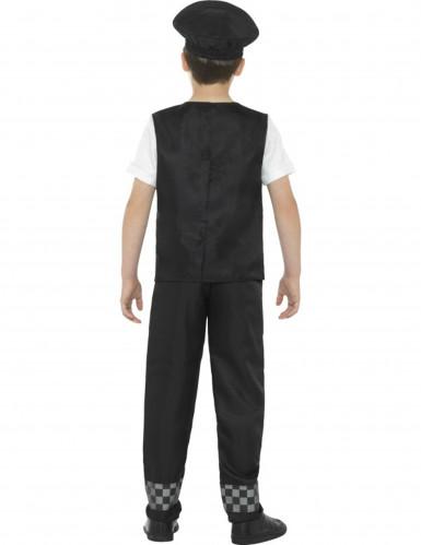 Politie kostuum voor jongens-2