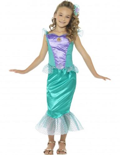 Zeermeermin kostuum voor meiden