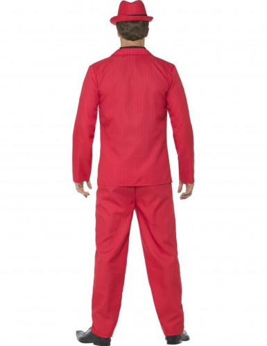 Rood gangster kostuum voor mannen-2