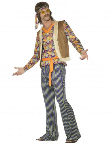 Jaren 60 hippie zanger kostuum voor mannen-2