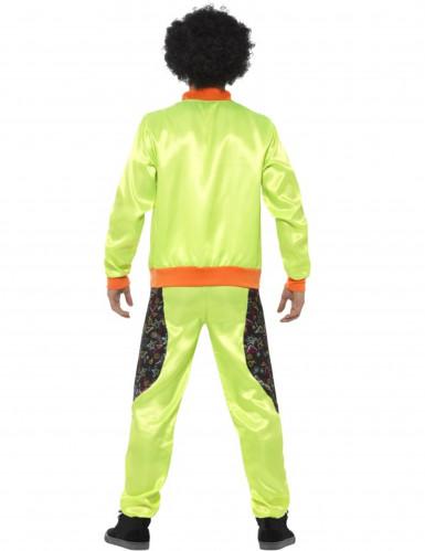 Groen retro joggingpak voor mannen-1