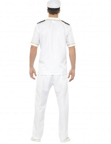 Wit kapitein kostuum voor mannen-2