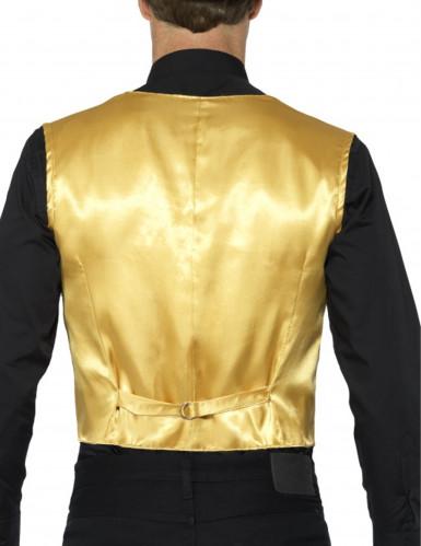 Goudkleurig jasje met lovertjes voor volwassenen-2