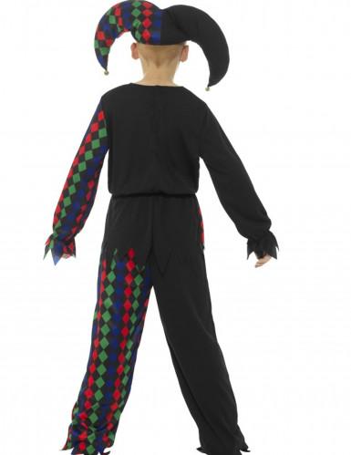 Skelet narren kostuum voor kinderen-1