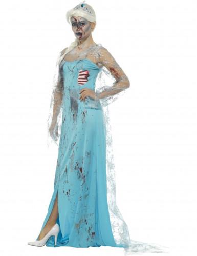 Bevroren zombie prinses kostuum voor vrouwen-1
